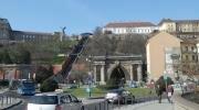 Венгерская корона, будапештский фуникулер и тоннель.